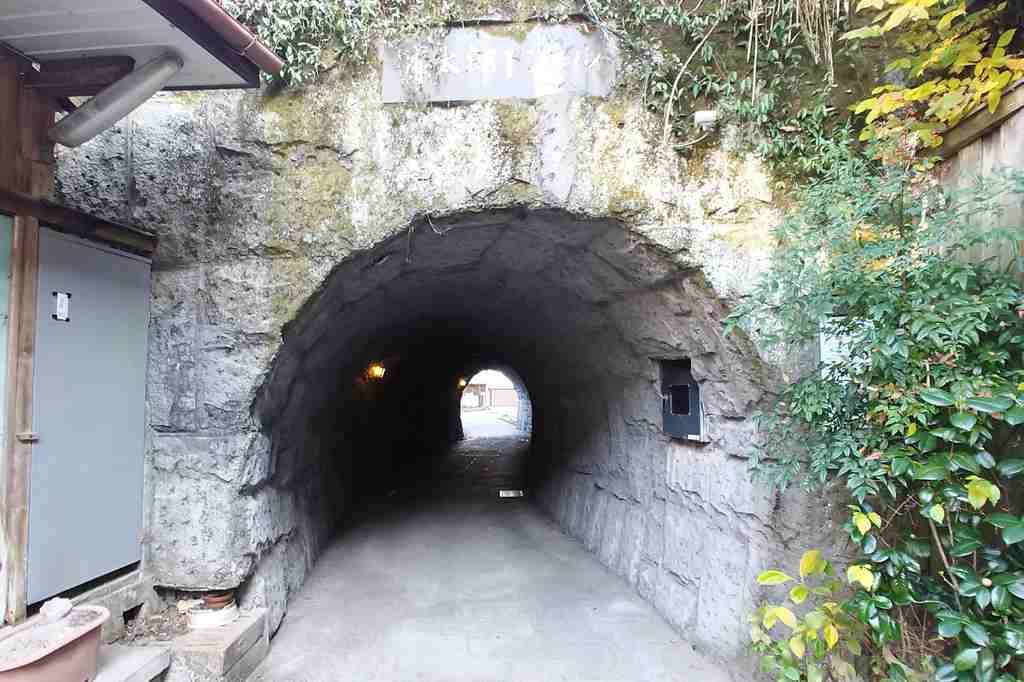 滝廉太郎記念館 トンネル