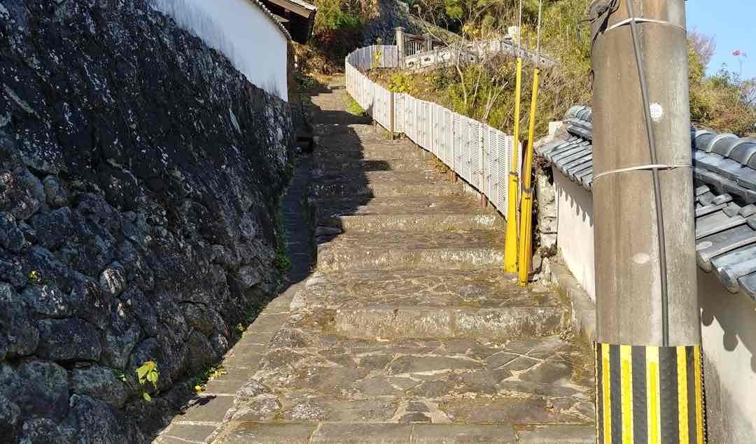 愛染堂 階段