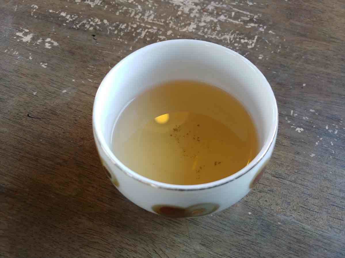 十割そば谷岡 蕎麦茶