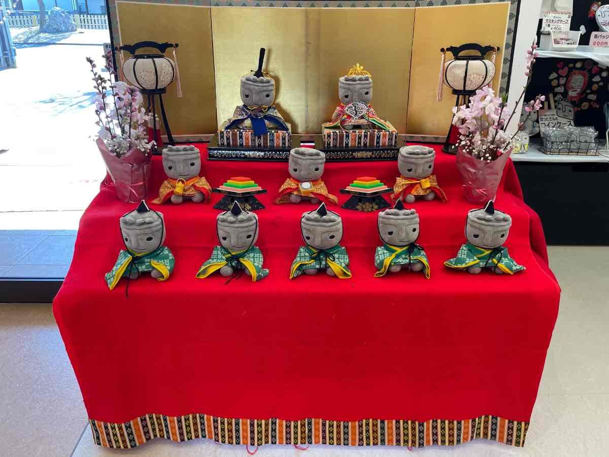 臼杵市観光交流プラザ ほっとさん雛人形