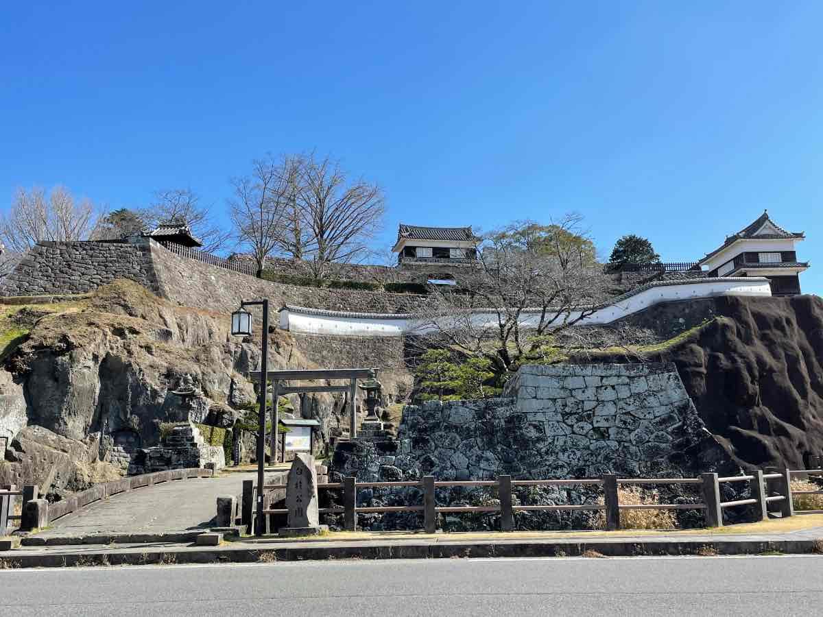臼杵城跡外観