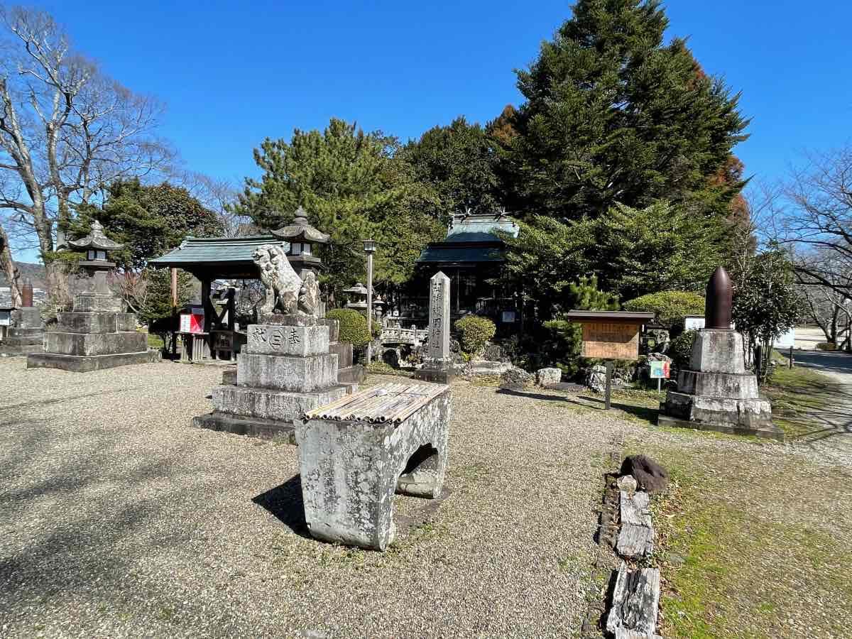 臼杵城址 護国神社