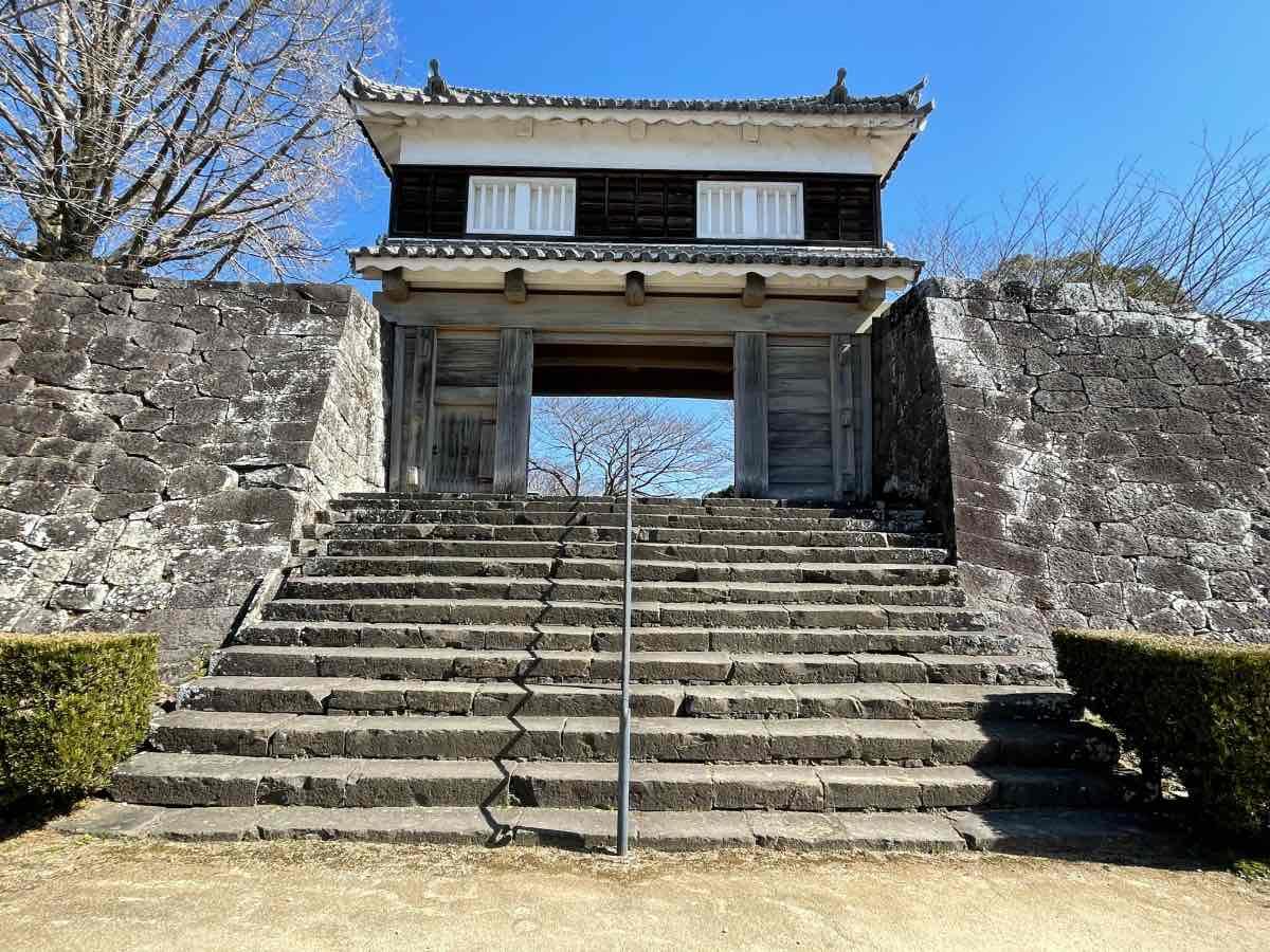 臼杵城址 正門