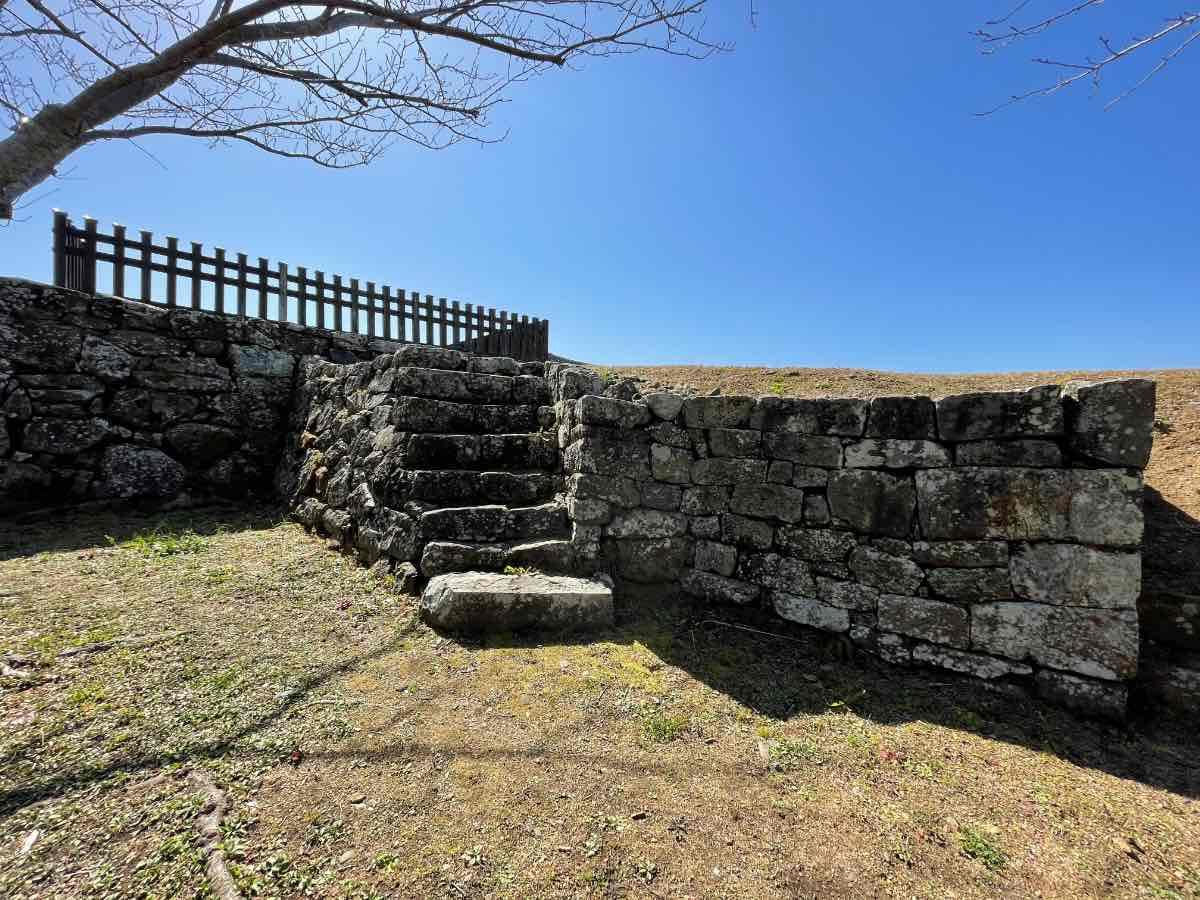 臼杵城址 階段