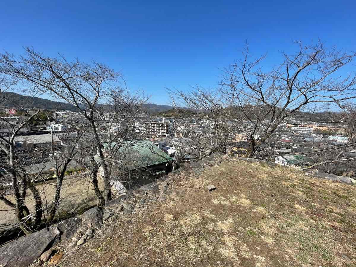 臼杵城址 景色