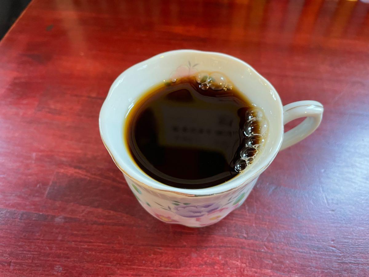 あいあい亭 コーヒー