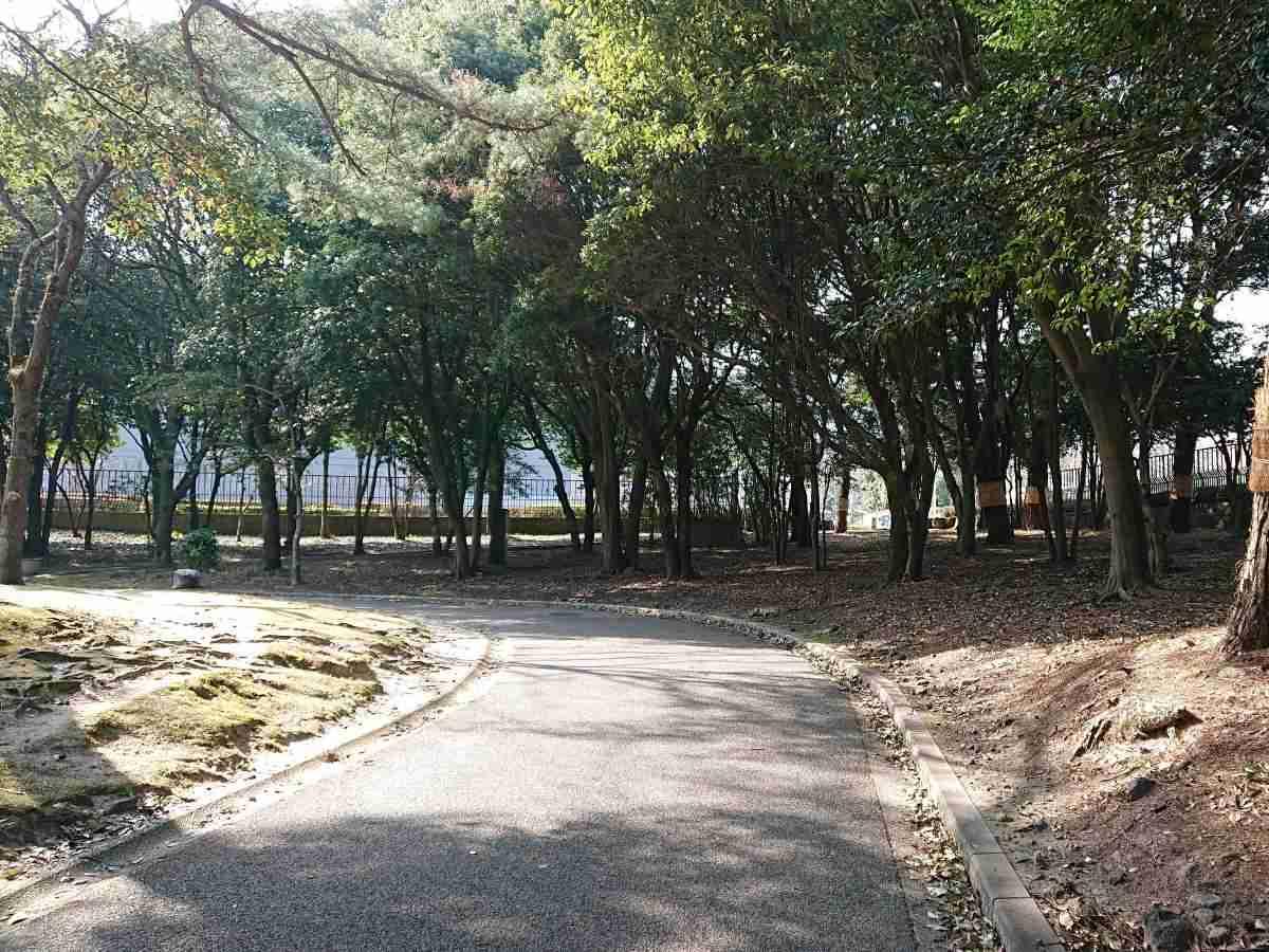別府公園・北門~西門