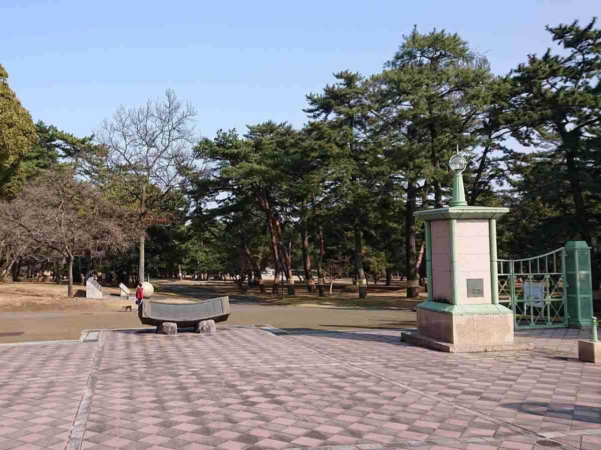 別府公園・西門