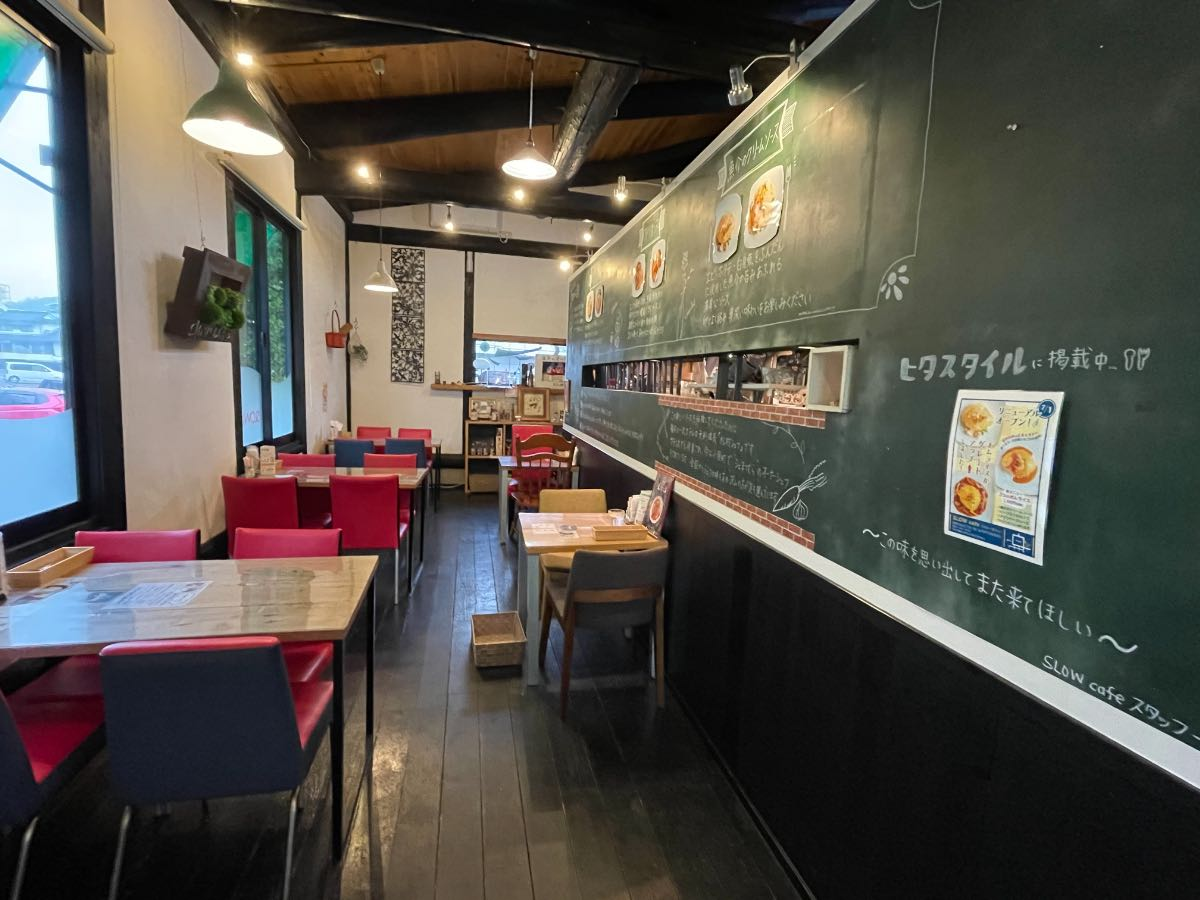 SLOW CAFE 店内