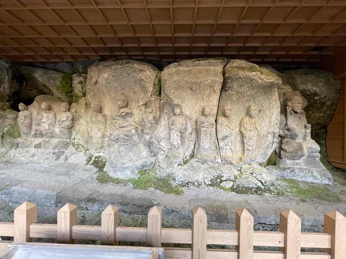 臼杵石仏 ホキ石仏第二群 九品の弥陀像