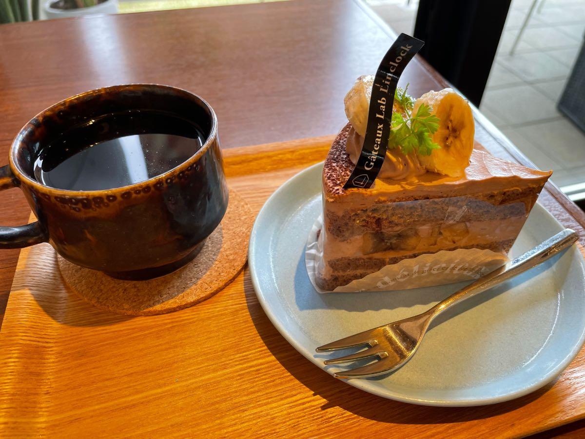 ガトーラボリンクロック コーヒーと生チョコガトー