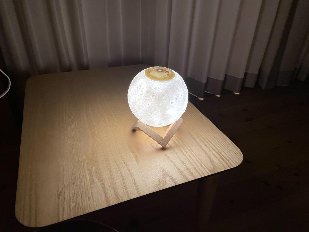 クアパーク LEDライト付きディフューザー