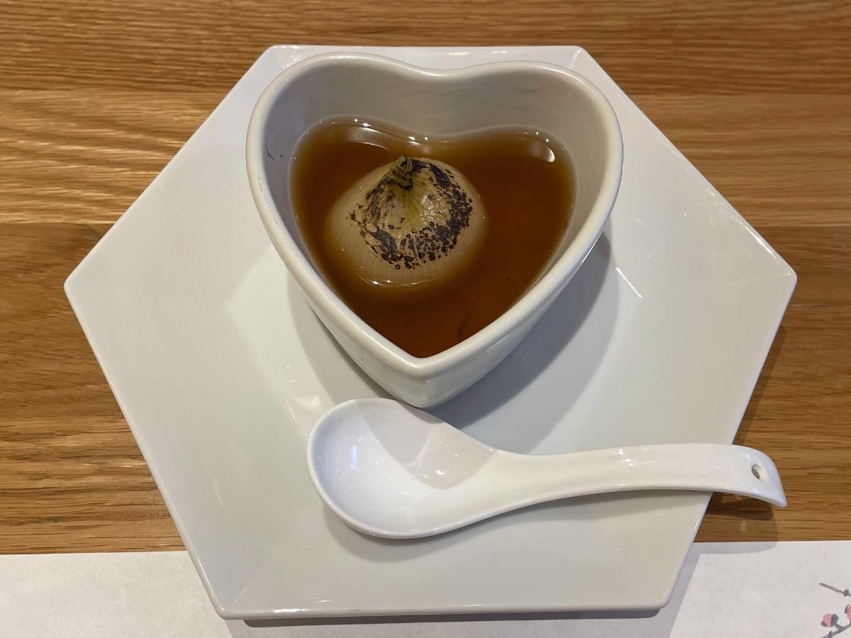 クアパーク 夕食玉ねぎのスープ