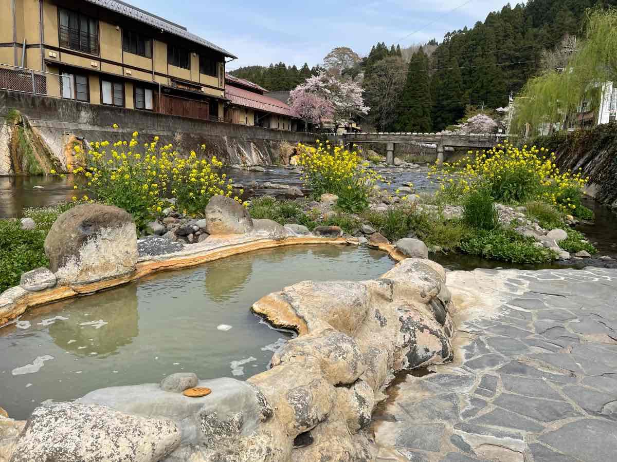 ガニ湯からの景色