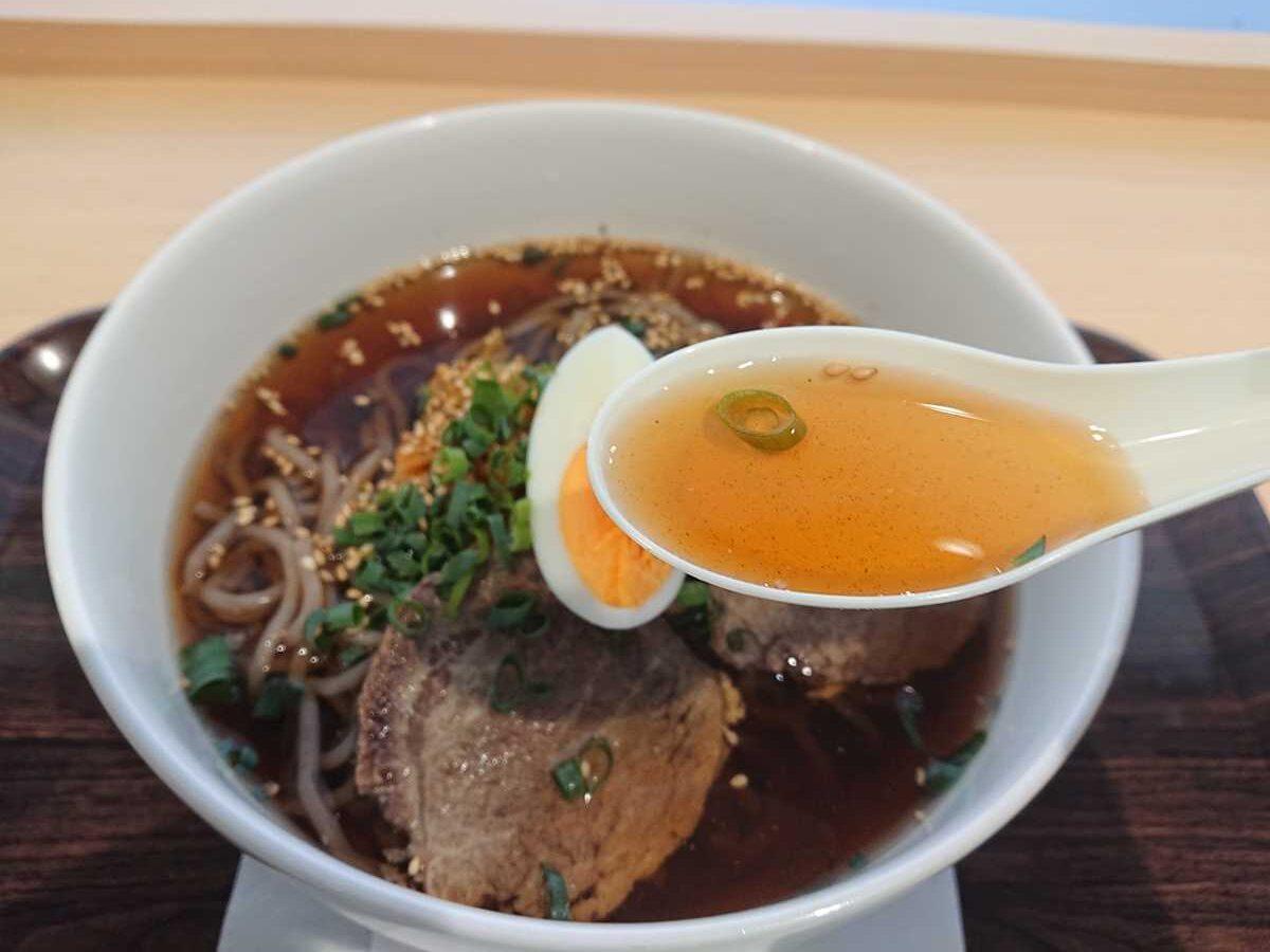 なつま屋別府駅店・スープ