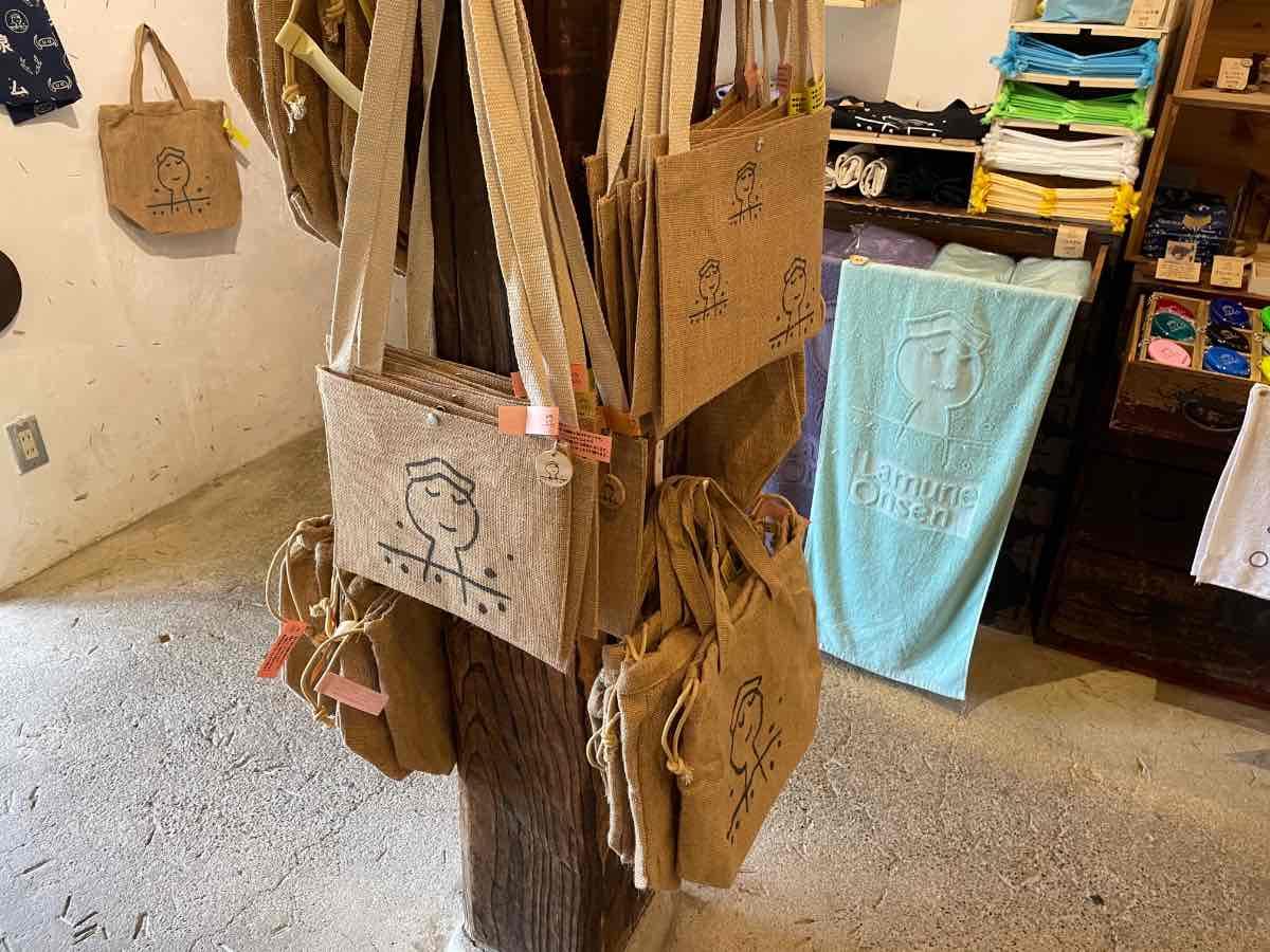ラムネ温泉館 オリジナルバッグ