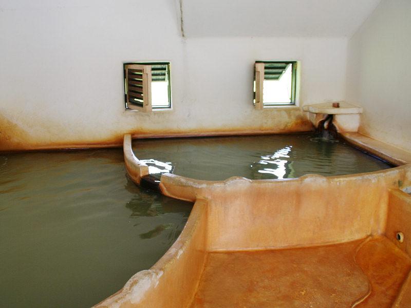 ラムネ温泉館 内湯