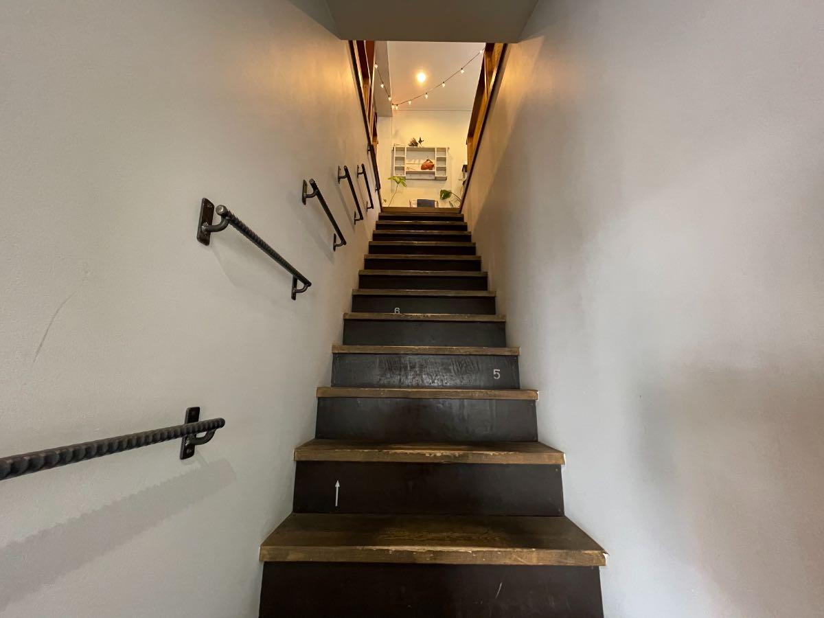 Room117 階段