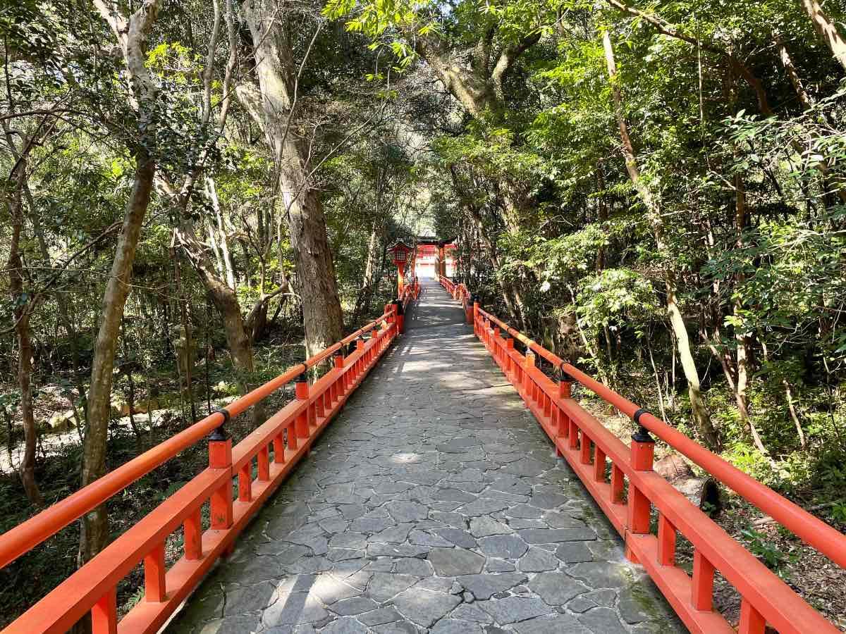 宇佐神宮 下宮への道