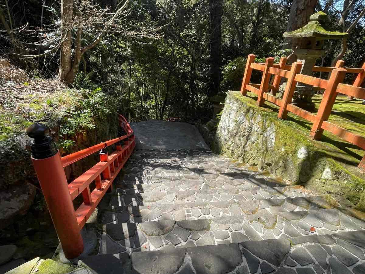 宇佐神宮 下宮への階段