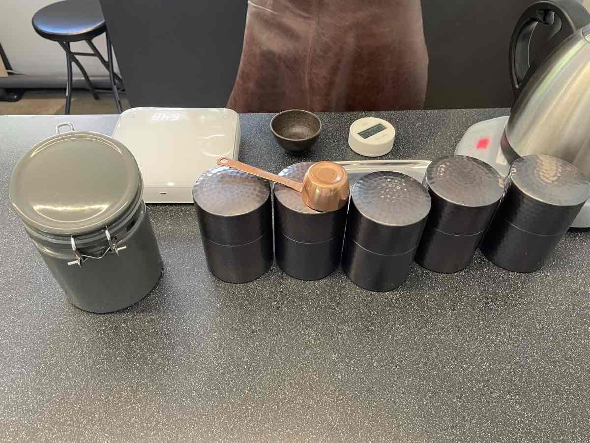 TAKENISHI TERRACE YOAKE COFFEE 珈琲保存缶