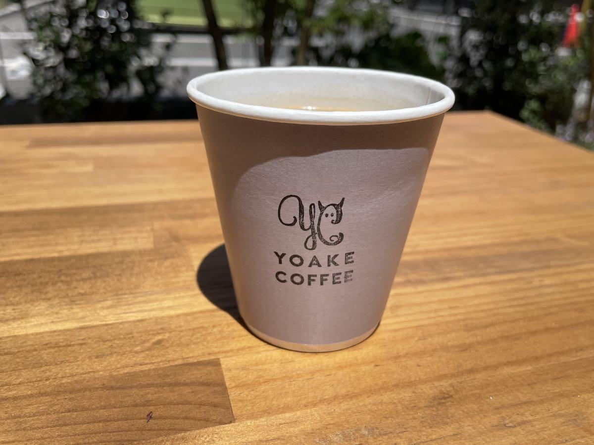 TAKENISHI TERRACE YOAKE COFFEE カップ