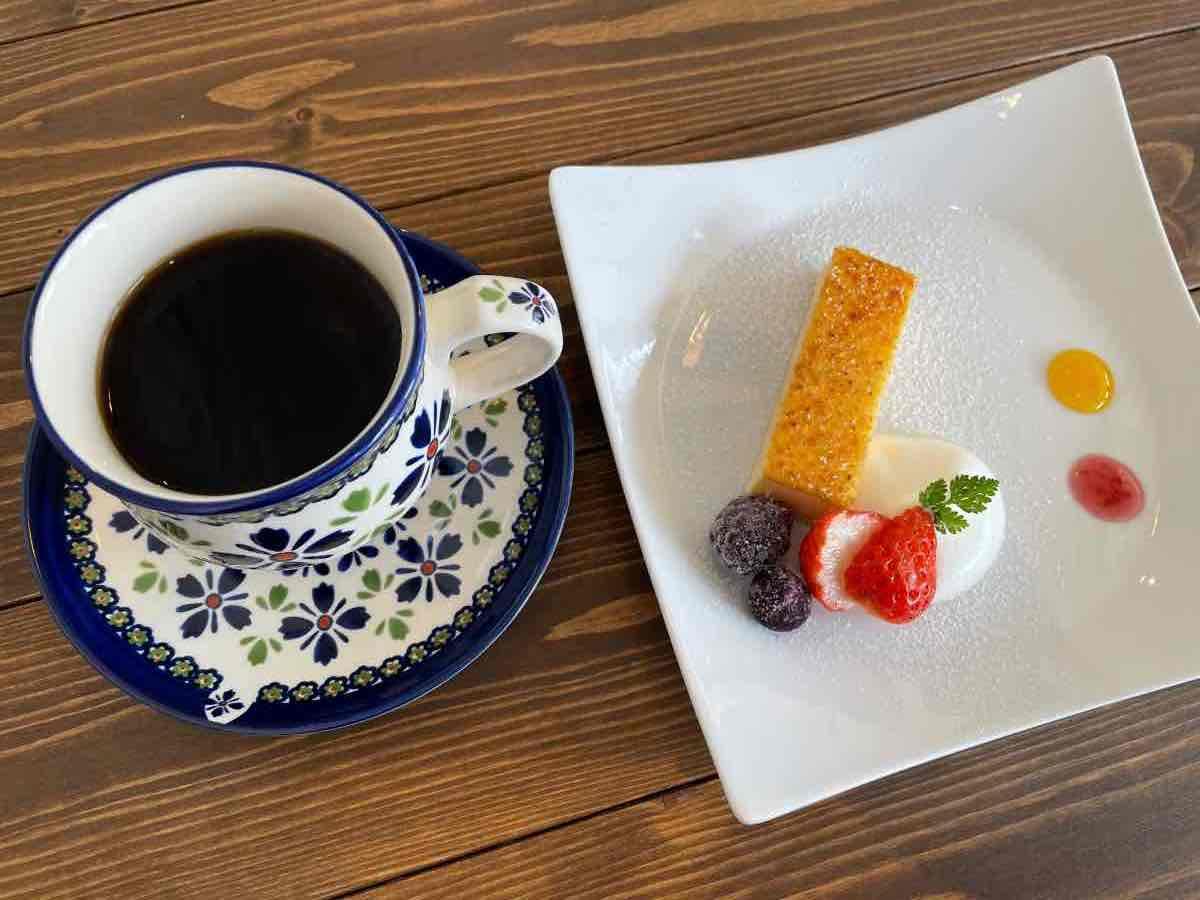 yumekaze カタラーナとコーヒー