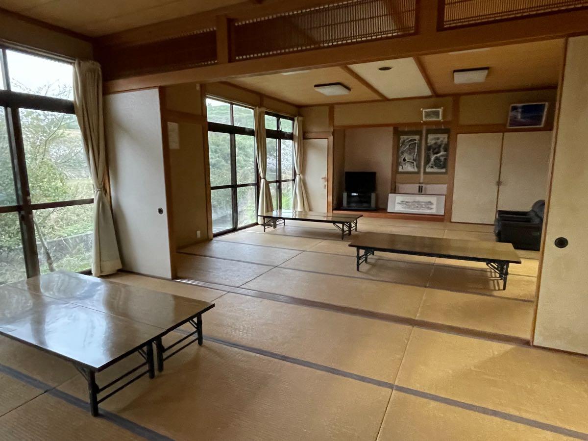 七里田温泉 休憩室