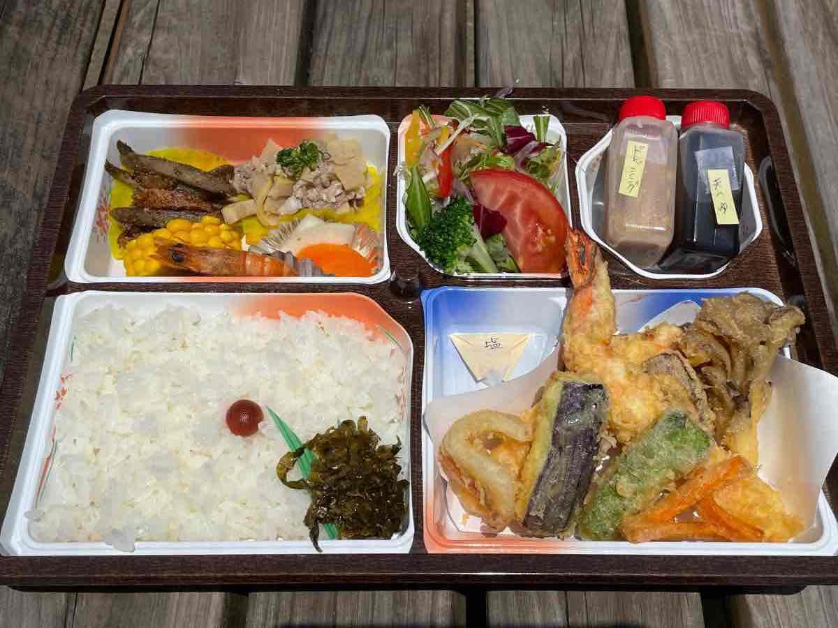 御料理さとう 天ぷら弁当