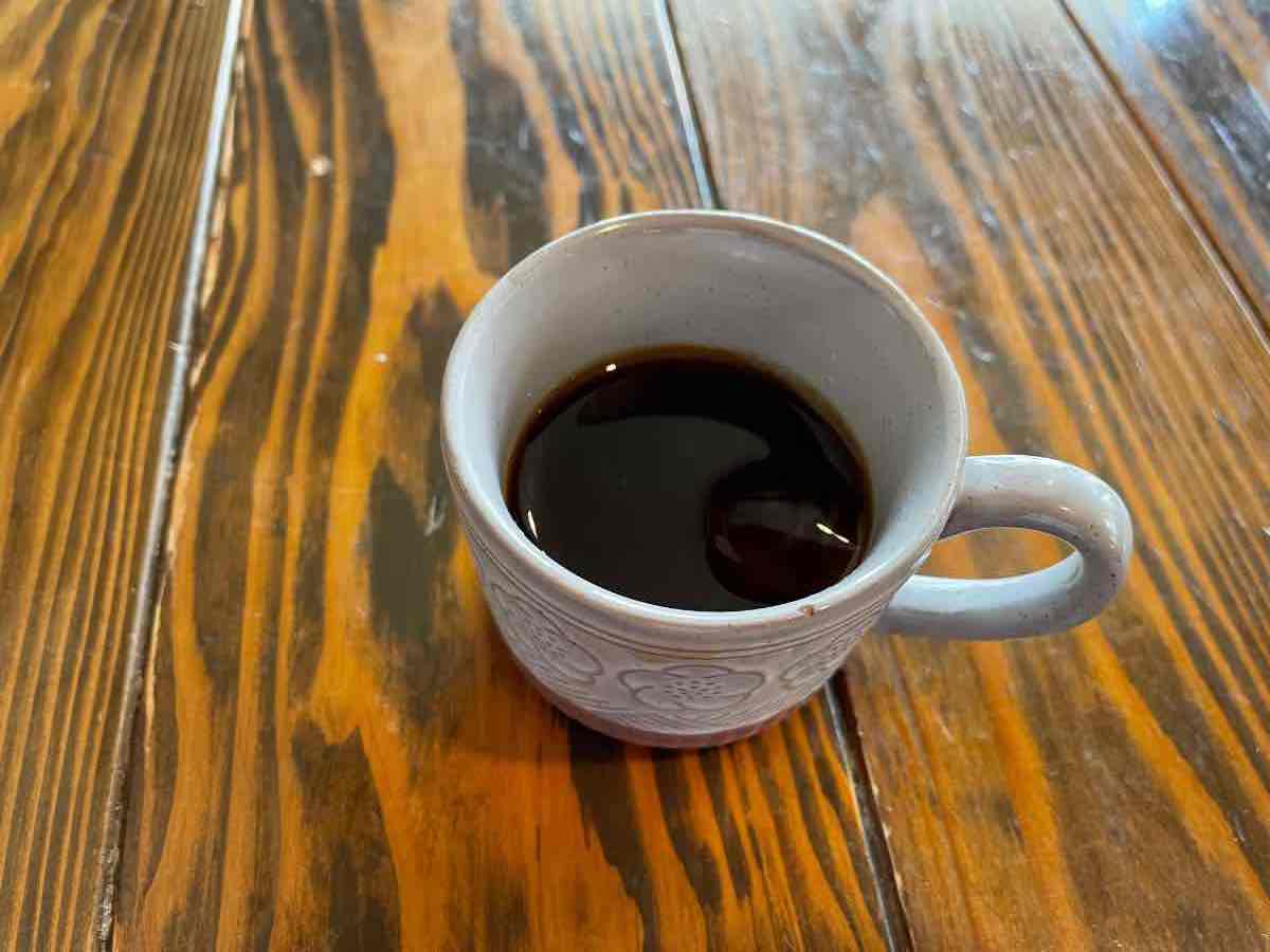 うどんたかむら コーヒー