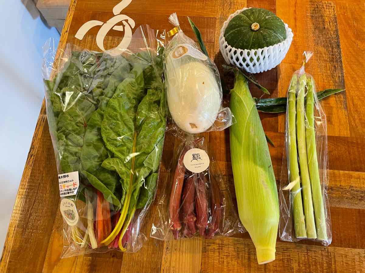 やおや六画ストア 購入した野菜