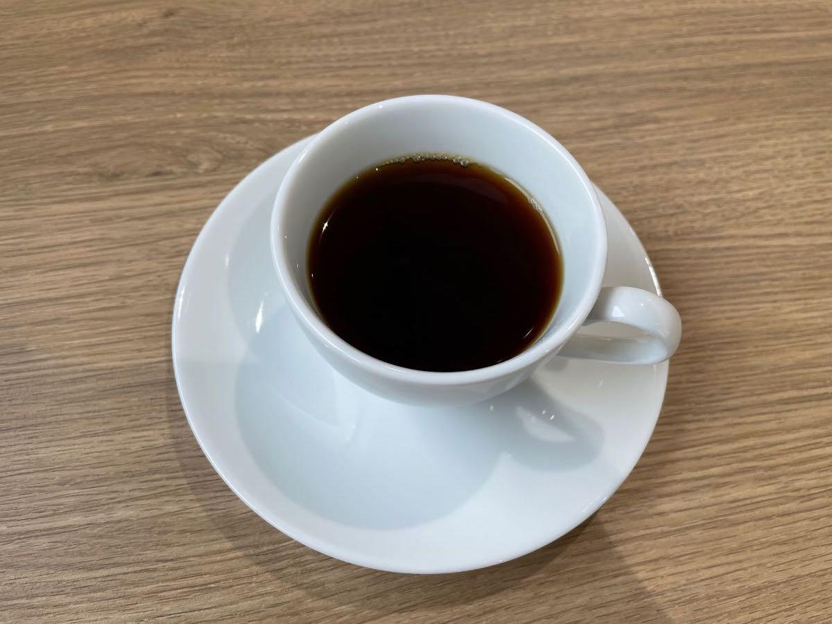 三佐美術館 コーヒー