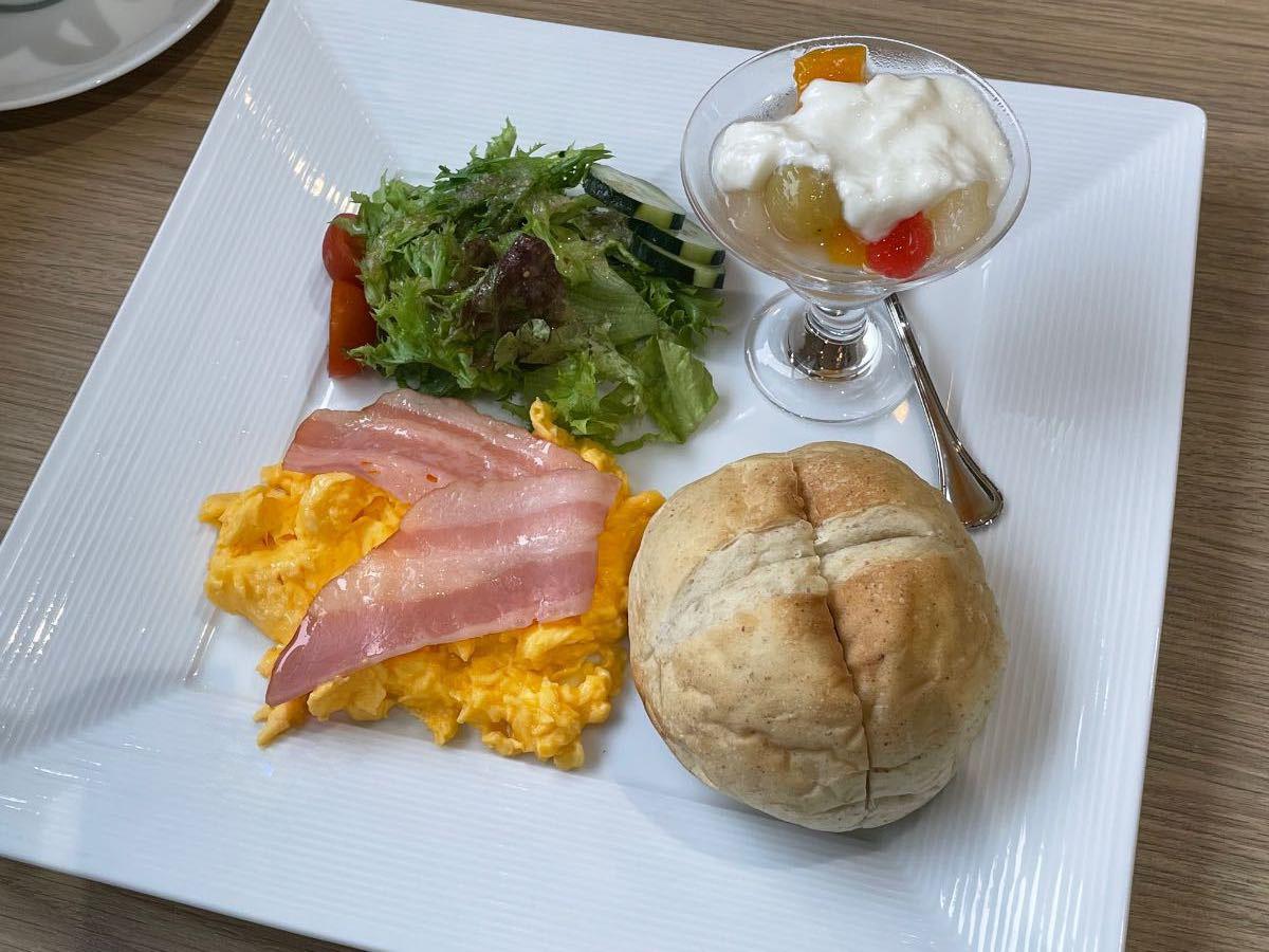 三佐美術館 朝食