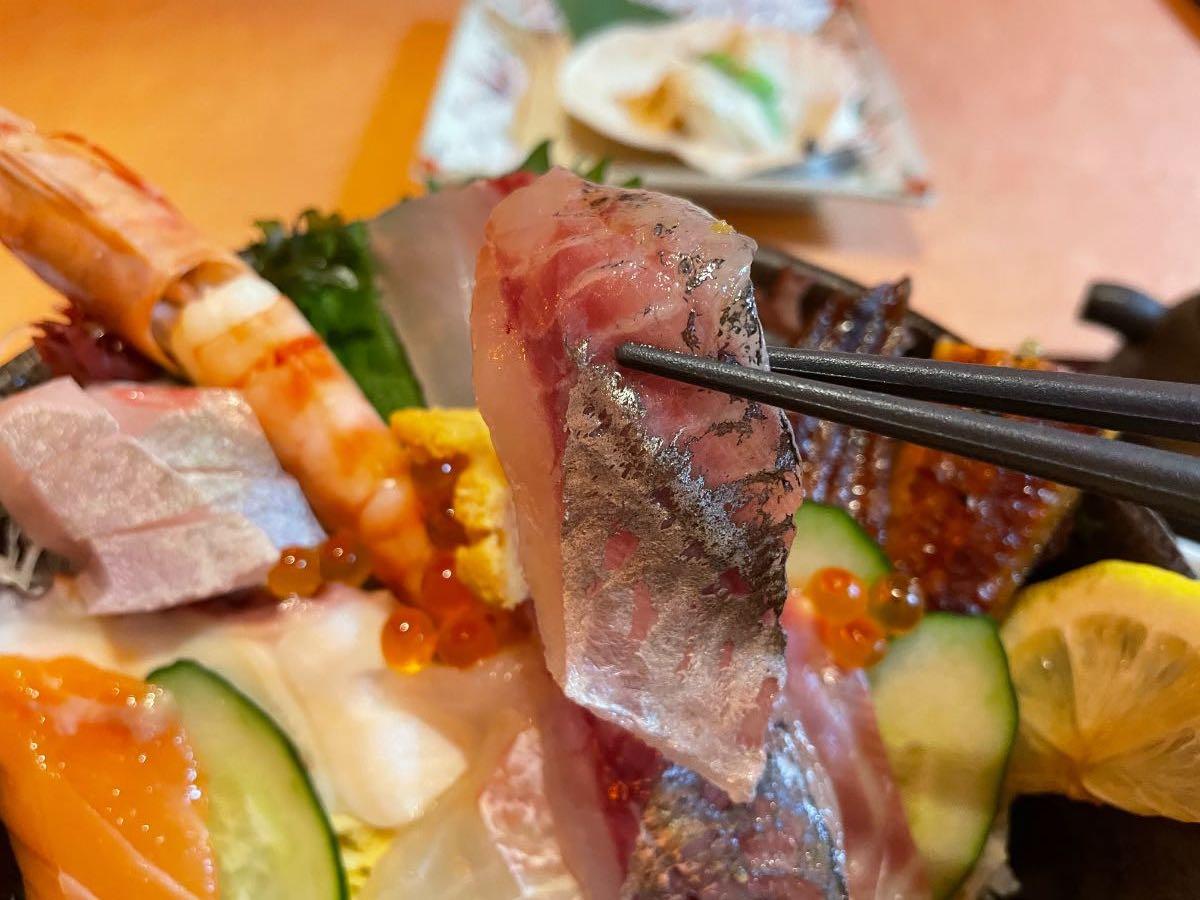 魚彩さくら亭 海鮮丼あじ