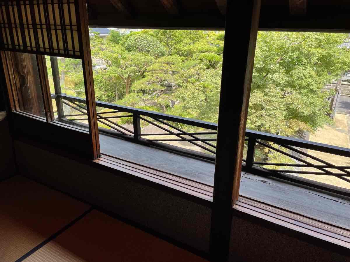 国木田独歩館 2階窓辺