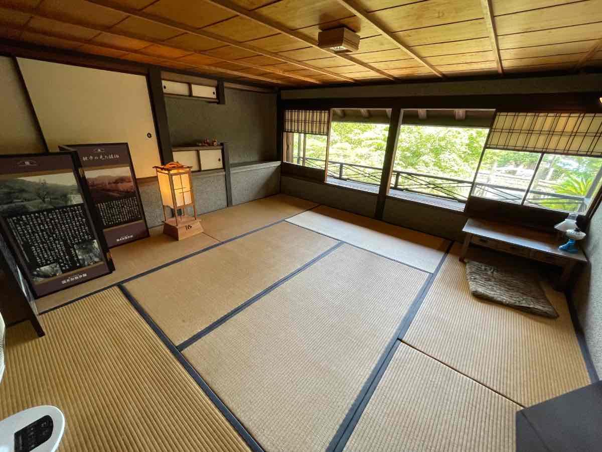 国木田独歩館 2階畳部屋