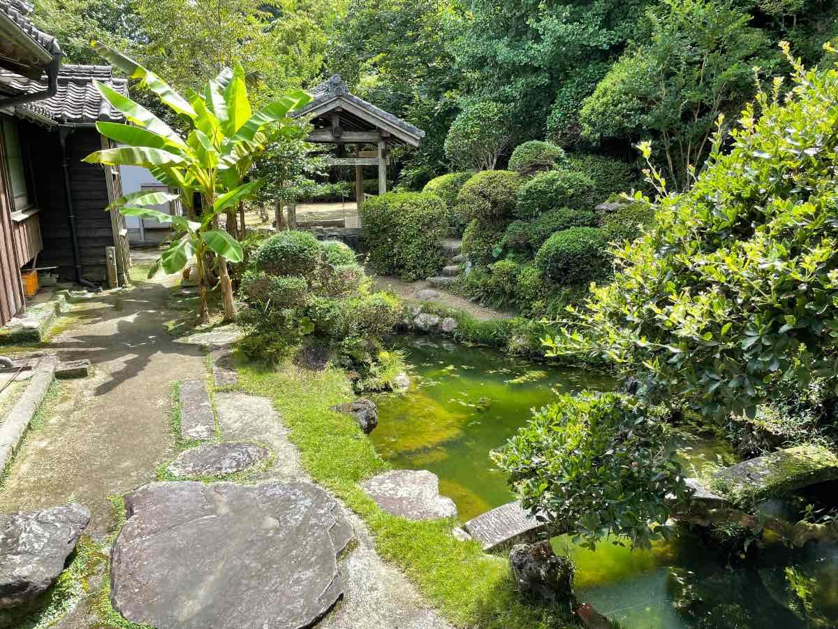国木田独歩館 庭