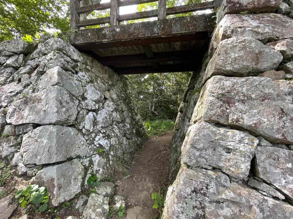 佐伯城跡 橋